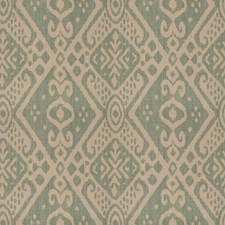 Teal Global Decorator Fabric by Vervain