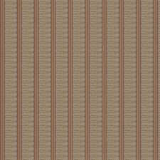 Paprika Stripes Decorator Fabric by Fabricut