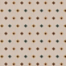 Teal Embroidery Decorator Fabric by Fabricut