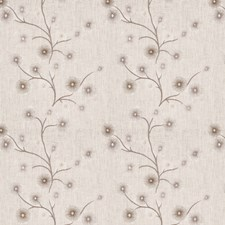 Sterling Embroidery Decorator Fabric by Stroheim