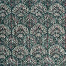 Green Bargellos Decorator Fabric by Kravet