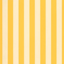 Beaufort Yellow Decorator Fabric by Sunbrella