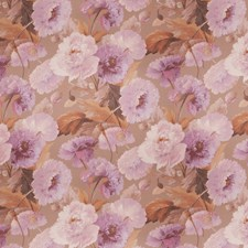 Orchid Floral Decorator Fabric by Vervain