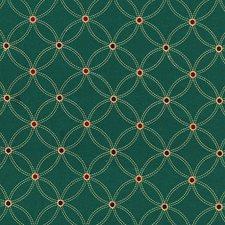 Smoky Teal Decorator Fabric by Schumacher