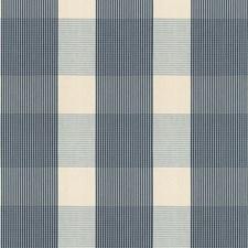 Indigo/Sky Decorator Fabric by Schumacher