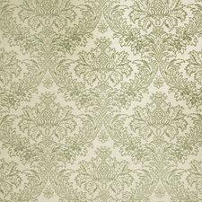 Spearmint Damask Decorator Fabric by Stroheim