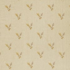 Limestone Embroidery Decorator Fabric by Stroheim