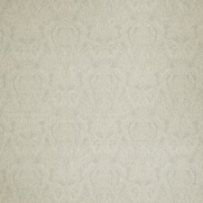 Grey Paisley Decorator Fabric by Stroheim