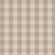 Rosewater Check Decorator Fabric by Stroheim