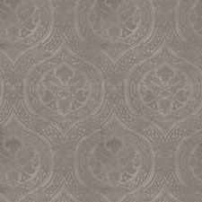 Gray Print Pattern Decorator Fabric by Vervain