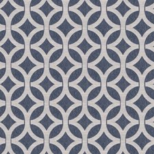 Indigo Lattice Decorator Fabric by Fabricut