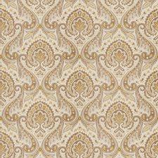 Flax Paisley Decorator Fabric by Fabricut