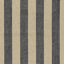 Ebony/Linen Decorator Fabric by Schumacher