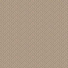 Aqua Sand Geometric Decorator Fabric by Trend