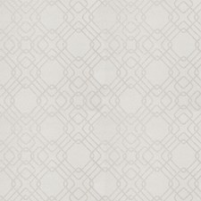 Silver Geometric Decorator Fabric by Fabricut