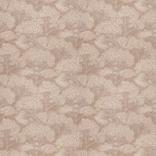 Ash Brown Leaves Decorator Fabric by Stroheim