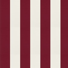 Cherry Stripes Decorator Fabric by Trend