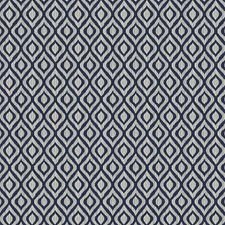 Indigo Diamond Decorator Fabric by Fabricut