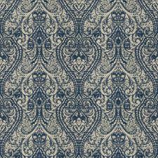 Azure Paisley Decorator Fabric by Fabricut