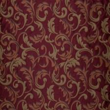 Claret Lattice Decorator Fabric by Trend