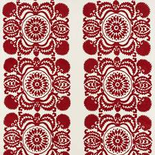 Red Decorator Fabric by Schumacher