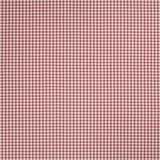 Red Check Decorator Fabric by Trend