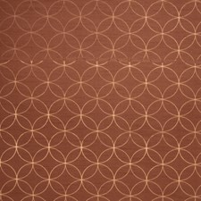 Copper Lattice Decorator Fabric by Trend