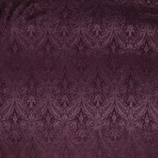 Wine Paisley Decorator Fabric by Trend