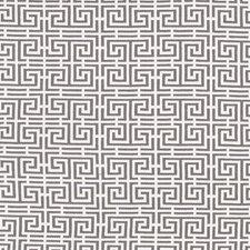 Grey/White Decorator Fabric by Schumacher