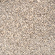 Aqua Paisley Decorator Fabric by Trend