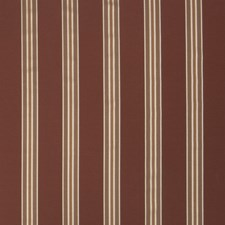 Cinnamon Stripes Decorator Fabric by Trend