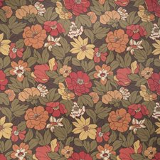Cocoa Leaves Decorator Fabric by Trend