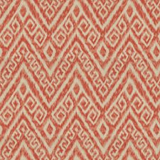 Coral Reef Flamestitch Decorator Fabric by Trend