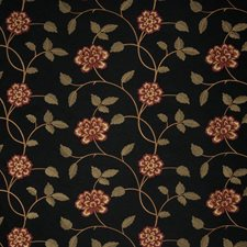 Garnet Embroidery Decorator Fabric by Trend