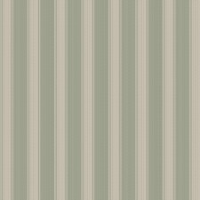 Misty Jade Stripes Decorator Fabric by Trend