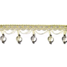 Beaded Chartreuse Trim by Duralee