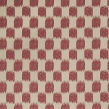 Redbud Flamestitch Decorator Fabric by Trend