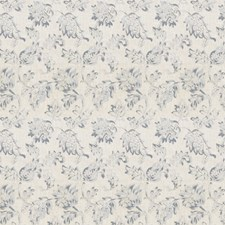 Chambray Floral Decorator Fabric by Trend