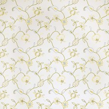 Lemon Zest Embroidery Decorator Fabric by Trend
