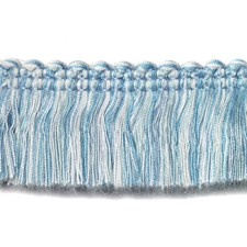 Fringe Turquoise Trim by Duralee