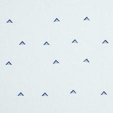 Navy/White Decorator Fabric by Schumacher