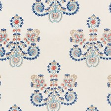Indigo Spice Decorator Fabric by Schumacher