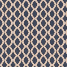 Navy Contemporary Decorator Fabric by Trend
