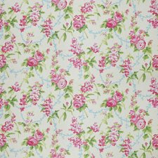 Spring Floral Decorator Fabric by Stroheim