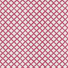 Pink Geometric Decorator Fabric by Stroheim