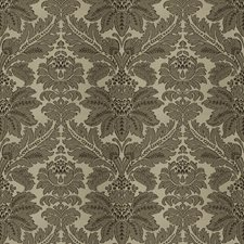 Prairie Dust Damask Decorator Fabric by Vervain