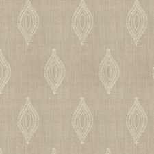 Sand Embroidery Decorator Fabric by Stroheim