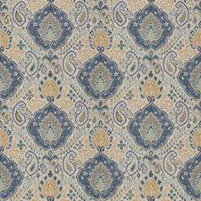 Regal Blue Paisley Decorator Fabric by Fabricut