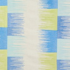 Blue/Lime Decorator Fabric by Schumacher
