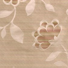 Natural/pink Decorator Fabric by Highland Court